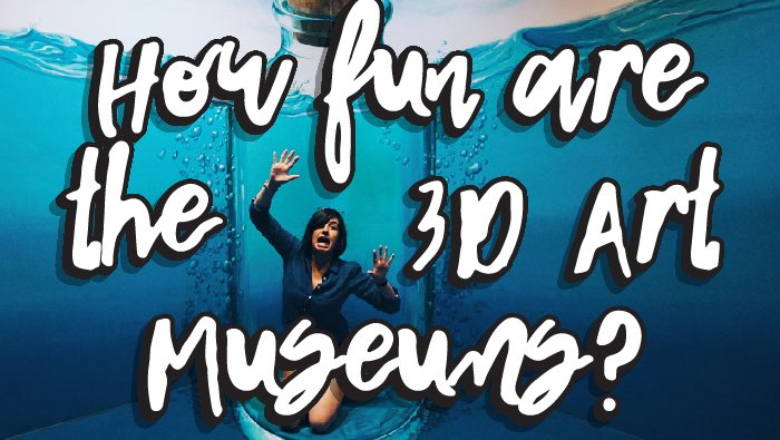How fun are 3D Art museums?